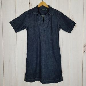 Lauren Ralph Lauren | Denim Jean Smock Dress